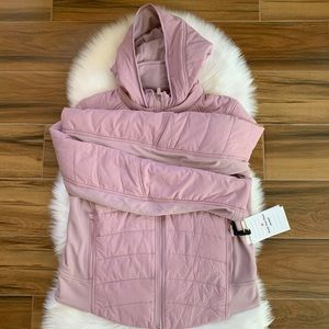 Push your pace jacket lululemon Antoinette pink 10